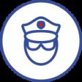 manbeveiliging icoon